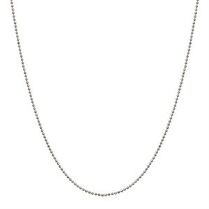 Picture of Silver Diamond Cut Ball Chain - 20""